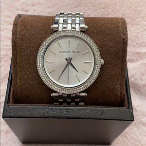 Authentic Michael Kors Darci Silver-Tone Watch